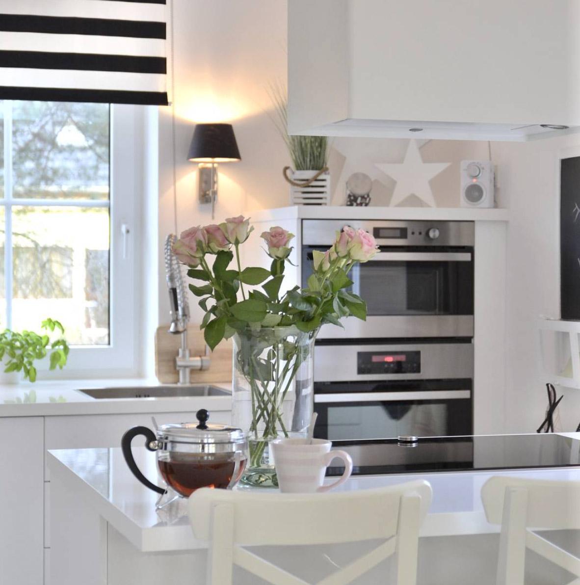 Weie minimalistische Kchen  tolle Fotos und