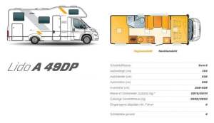 Wohnmobil Innenansicht Tag und Nacht