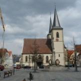 Marktpaltz in Haßfurt
