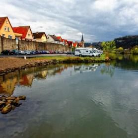 Stadtmauer in Karlstadt