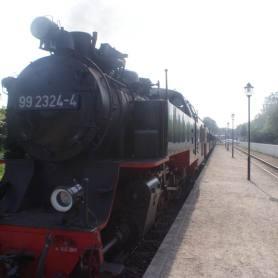 Am Bahnhof Kühlungsborn