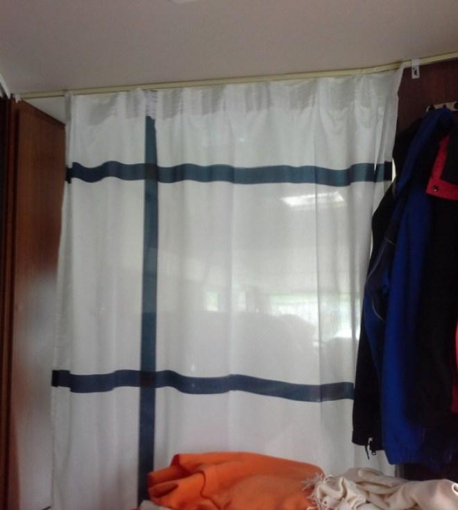 Vorhang hinten
