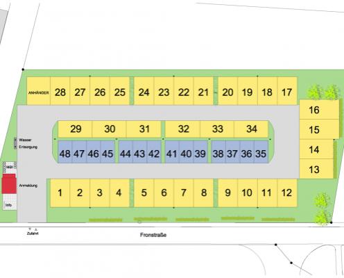 Stellplatzplan