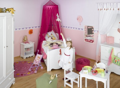 kinderzimmer einrichten m dchen. Black Bedroom Furniture Sets. Home Design Ideas