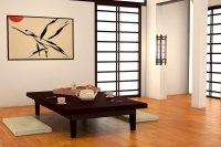 Japanischer Wohnstil - minimalistisch und gemtlich ...