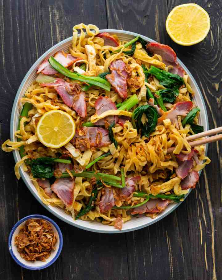 Easy BBQ Pork Lo Mein