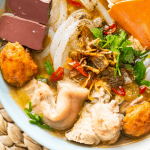 Banh Canh Cua in a bowl