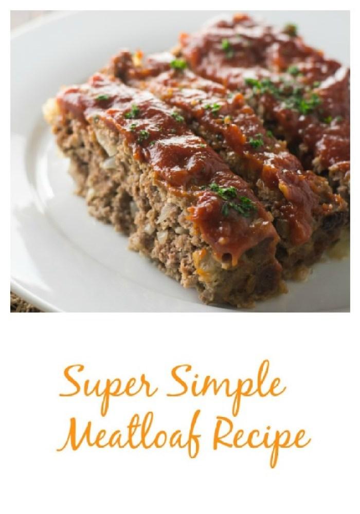 easiest, tastiest meatloaf EVER