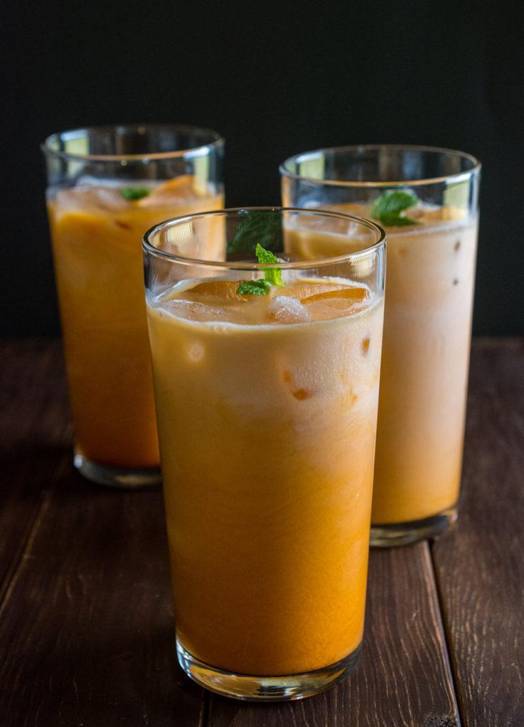 How to Make Thai Iced Tea  Wok  Skillet