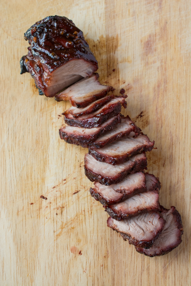 This Chinese BBQ Pork (Char Siu) recipe features a sweet, thick marinade that doubles as a dipping sauce. Now you can make this Chinatown favorite in your own kitchen! You won't believe how easy this recipe is!