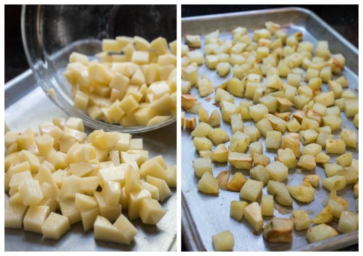 Spicy Fried Potatoes (Sambal Goreng Kentang)