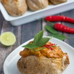 Thai Red Curry Baked Potato