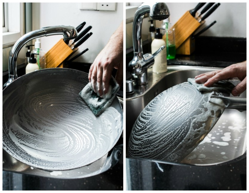 How to Season a Wok - a step by step guide