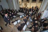 Blasorchester Havixbeck mit Rahel Budde in St. Dionysius, Havixbeck. Foto: A. Hasenkamp, Fotograf in Münster.
