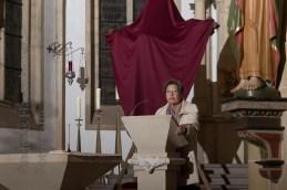 Prof. Ursula Nelles bei ihrer Fastenpredigt in der Kirche St. Nikolaus 2018. Foto: A. Hasenkamp, Fotograf in Münster.