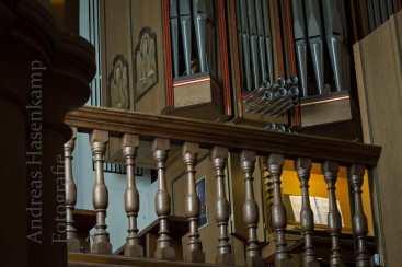 Die Orgel von St. Nikolaus in Münster-Wolbeck. Foto: A. Hasenkamp, Fotograf in Münster.