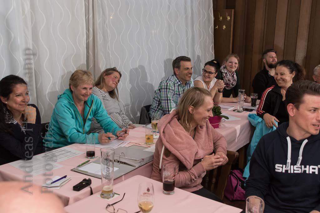 Manuela Bauch, Dagmar Hoffmann, Ute Huhtasaari, Stefan Langer, Vanessa Hilgensloh. Fotograf: A. Hasenkamp