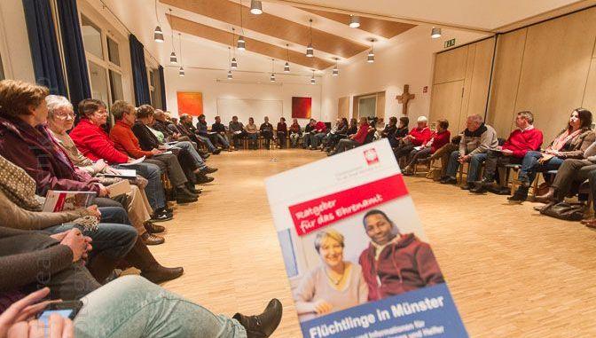 Flüchtlingshilfe SüdOst in Münster weiter mit Zulauf an Helfern