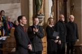 Applaus für Torsten Schwarte vom Pianisten. Foto: A. Hasenkamp, Fotograf in Münster.
