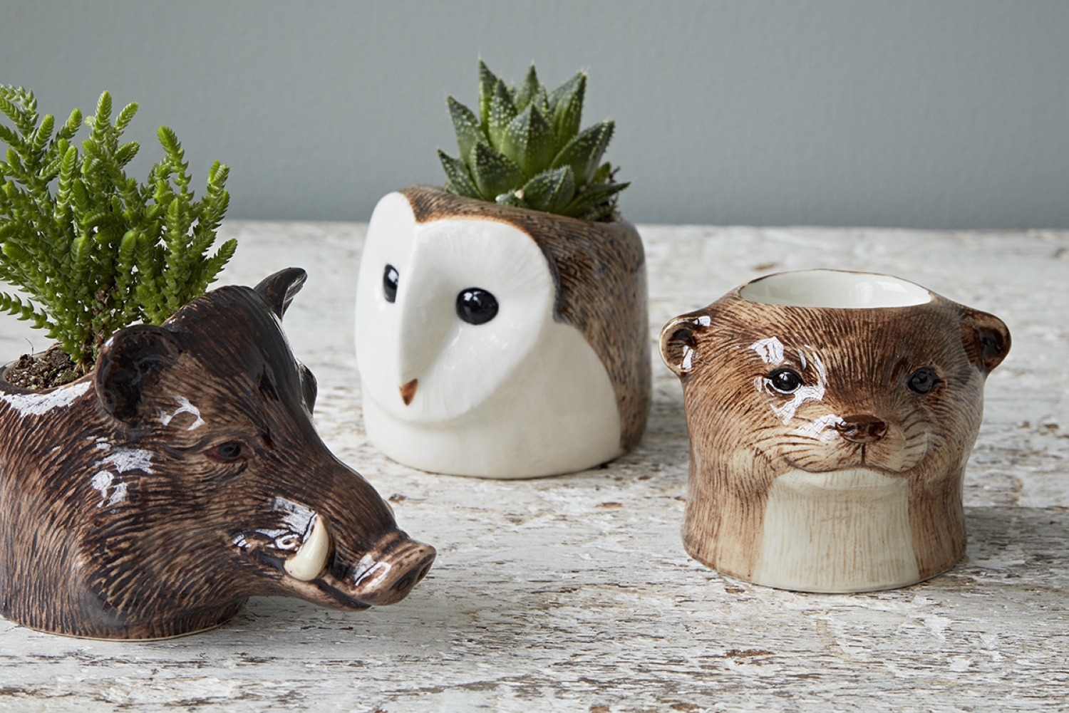 The Independent Interiors Edit: Trouva animal egg cups | Wolf & Stag
