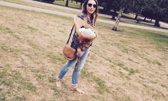 Style - Summer Loving Peasant Top - I love my Zara peasant top