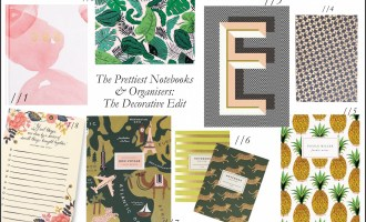 The Prettiest Notebook & Organiser Edit: Decorative