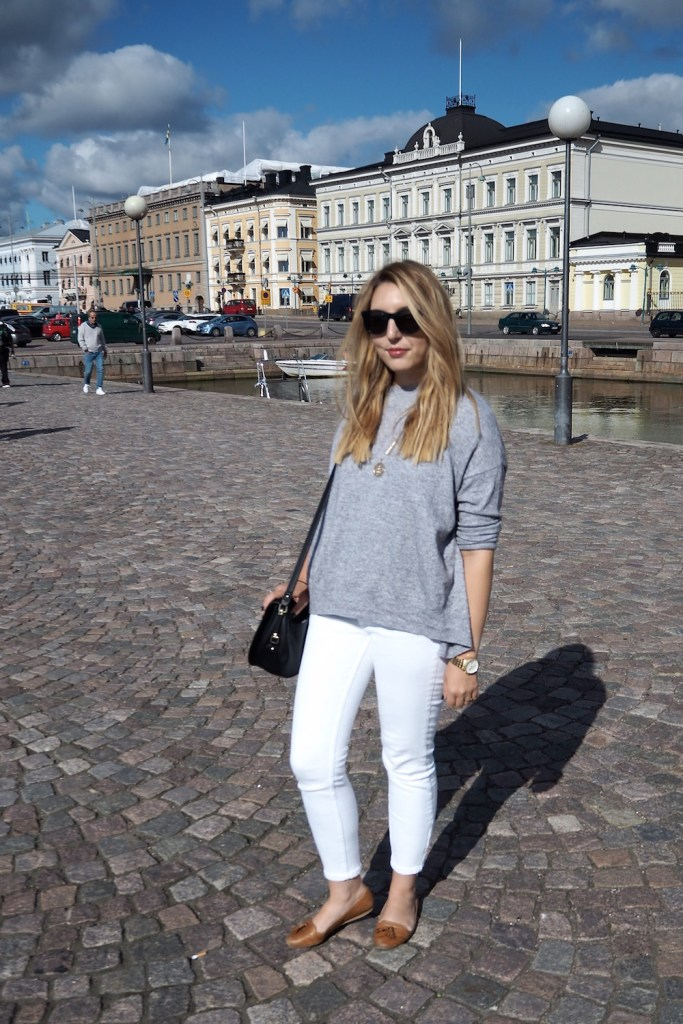 White Jeans in Autumn