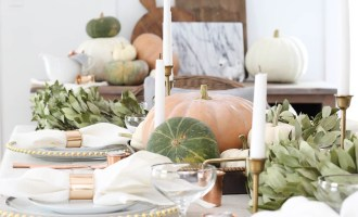 15 Beautiful Thanksgiving Tables to Inspire   Wolf & Stag