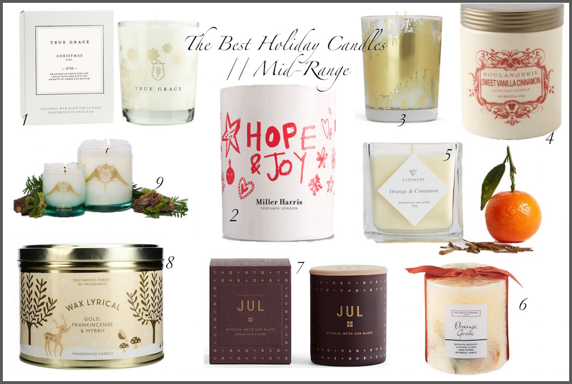 Friday Finds: The Best Holiday Candles | Mid Range | Wolf & Stag