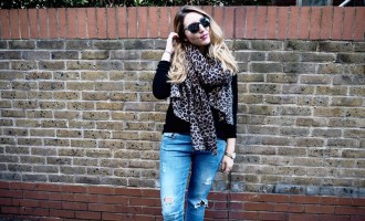 My Favourite Leopard Scarf   Wolf & Stag