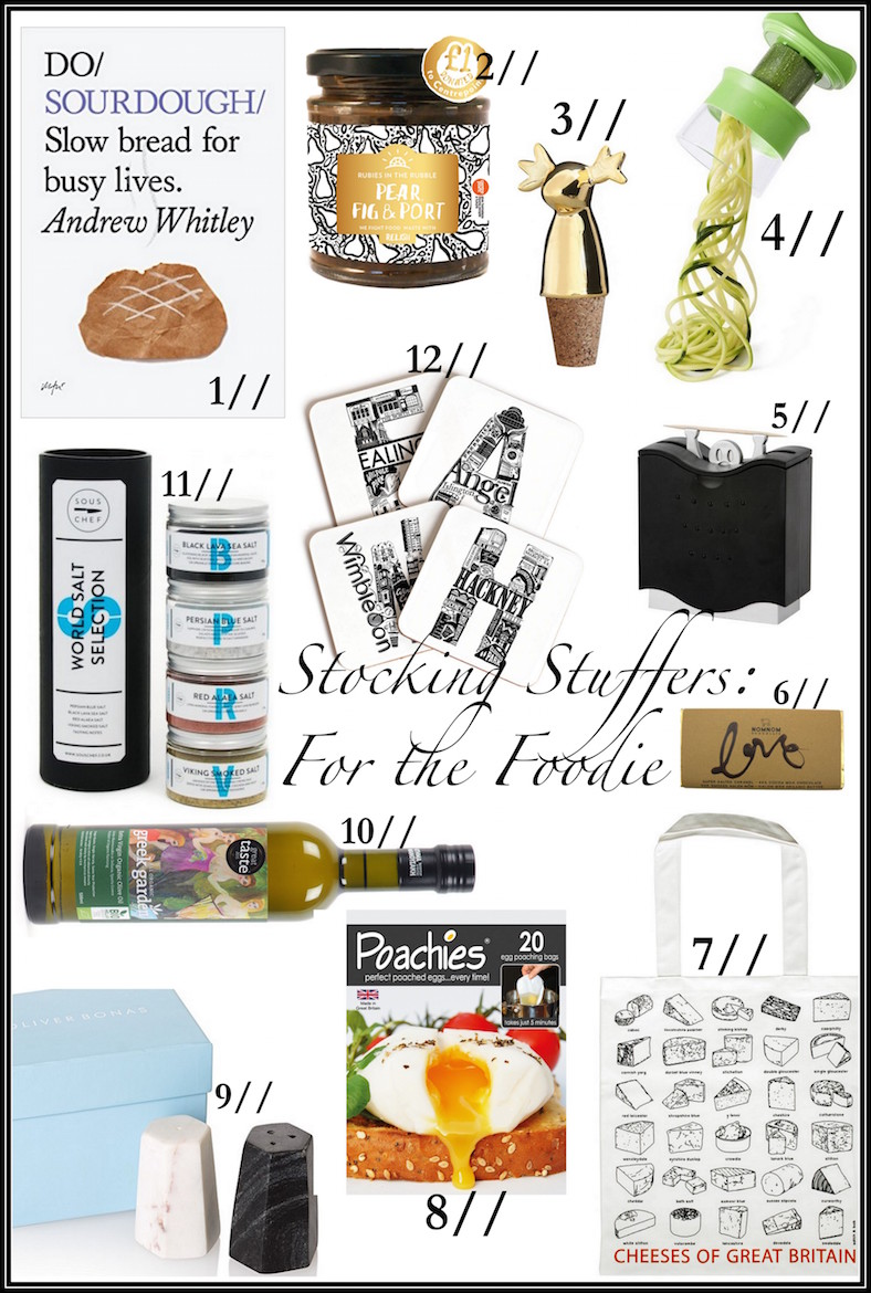 Stocking Stuffers for the Foodie | Wolf & Stag