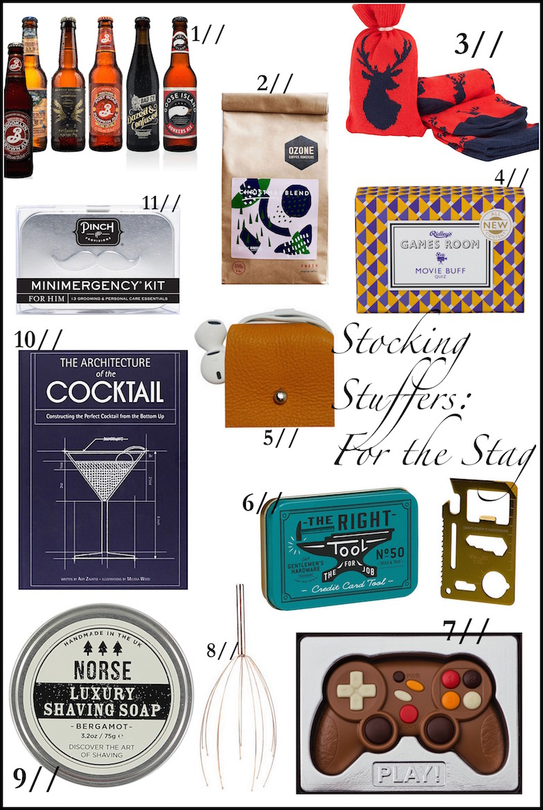 Stocking Stuffer Gift Guide: For Him | Wolf & Stag