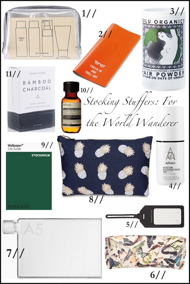 Stocking Stuffers for The World Wanderer | Wolf & Stag