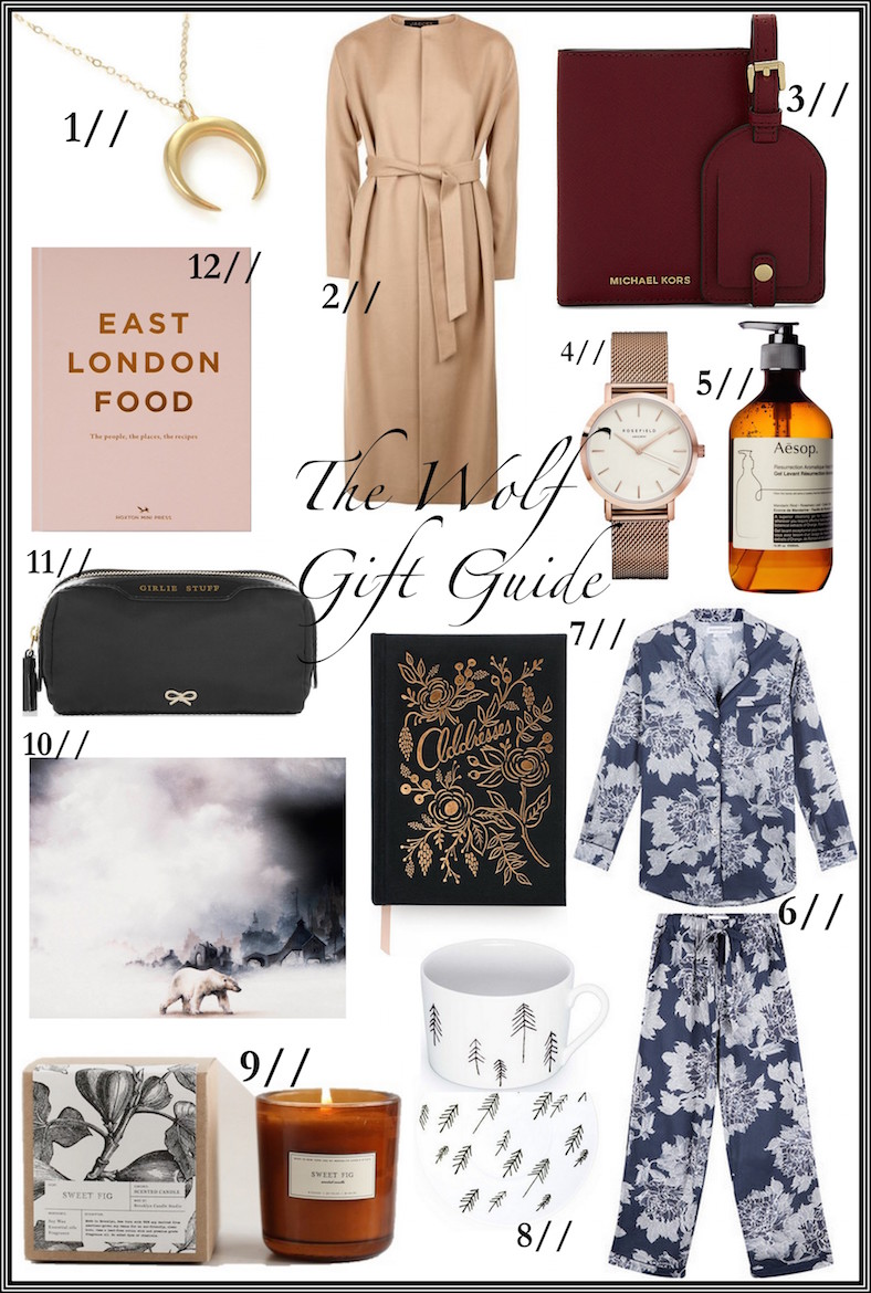 The Wolf Gift Guide (gifts for her) | Wolf & Stag