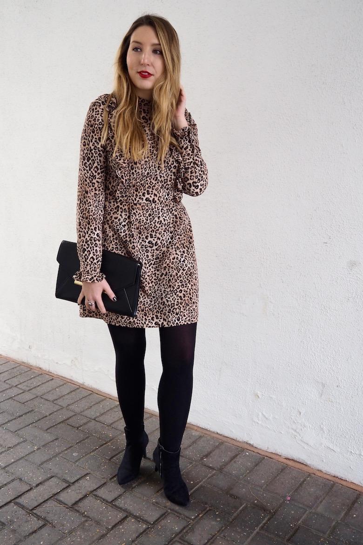 My Kind of Fancy: Leopard Print Ruffled Dress | Wolf & Stag
