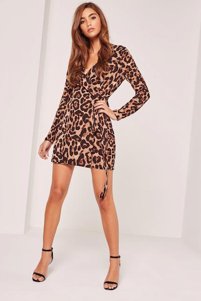 Leopard Print Dress | Missguided | Wolf & Stag