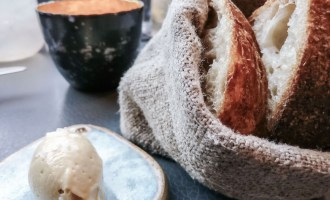 Fresh bread & butter at Pidgin, London | Wolf & Stag