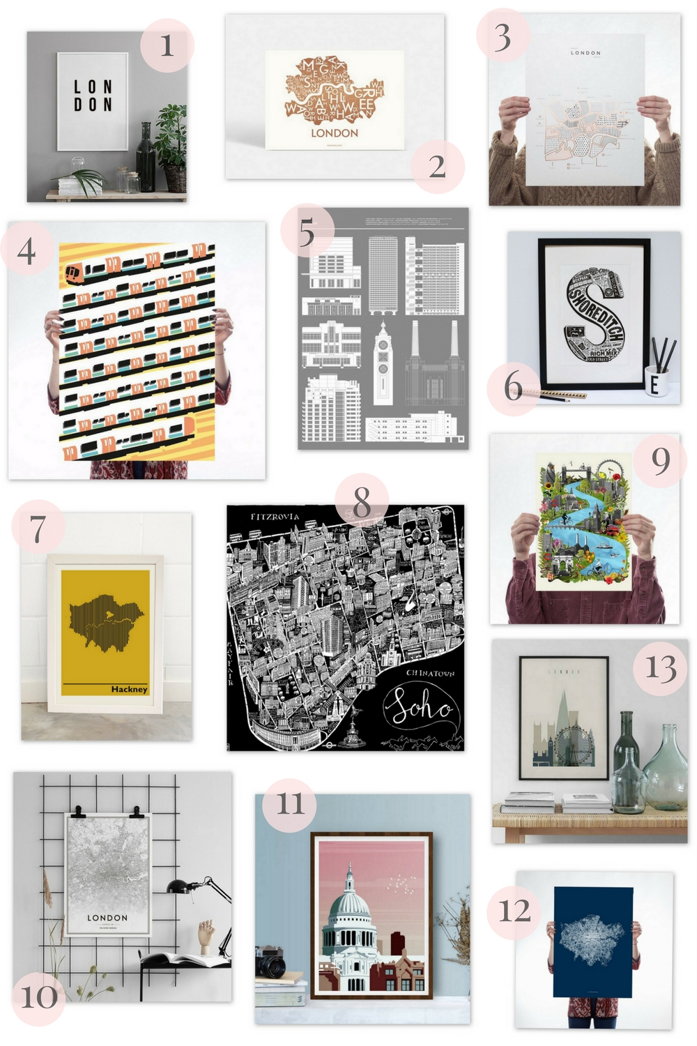 The Best London-Themed Prints: The Edit | Wolf & Stag