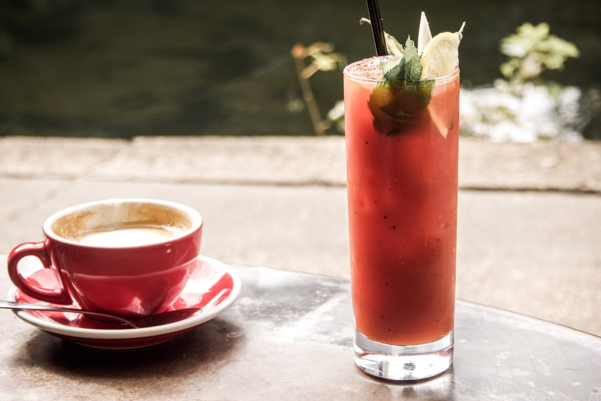 The 5 Best Bloody Marys in London | Barge House, Haggerston | Wolf & Stag