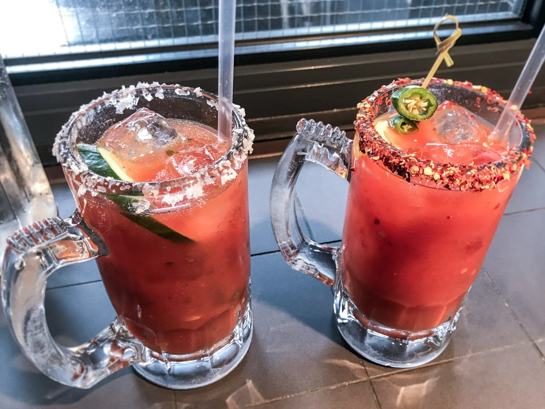The 5 Best Bloody Marys in London | HotBox London, Spitalfields | Wolf & Stag