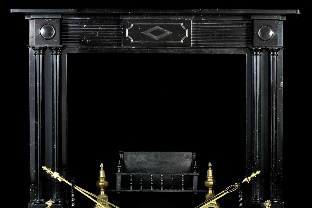 Westland London Antique Fireplace | Wolf & Stag