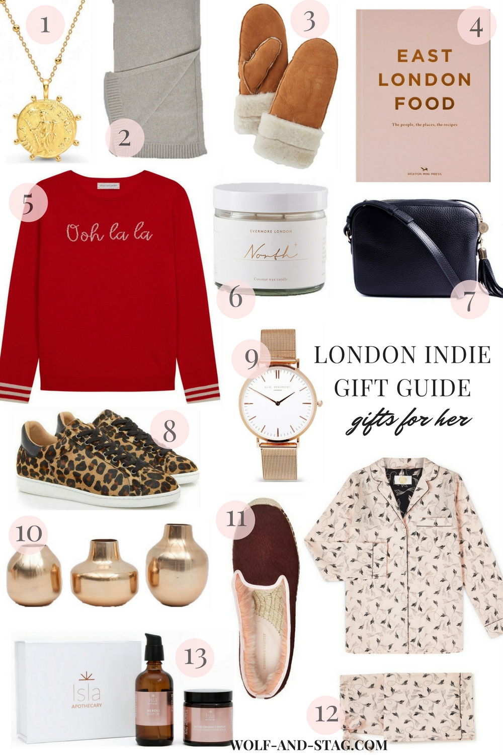 The Independent Holiday Gift Guide (London) | Gifts for Her | Wolf & Stag