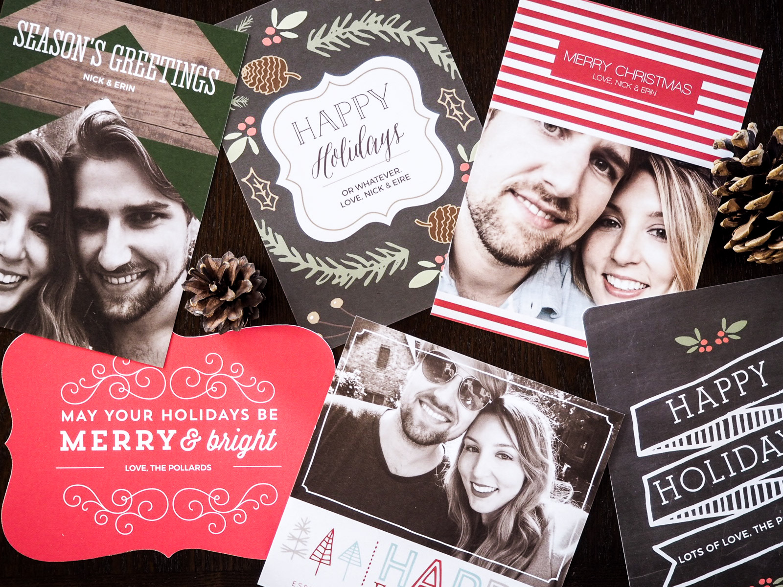 'Tis the Season… for Photo Holiday Cards (with Basic Invite)*