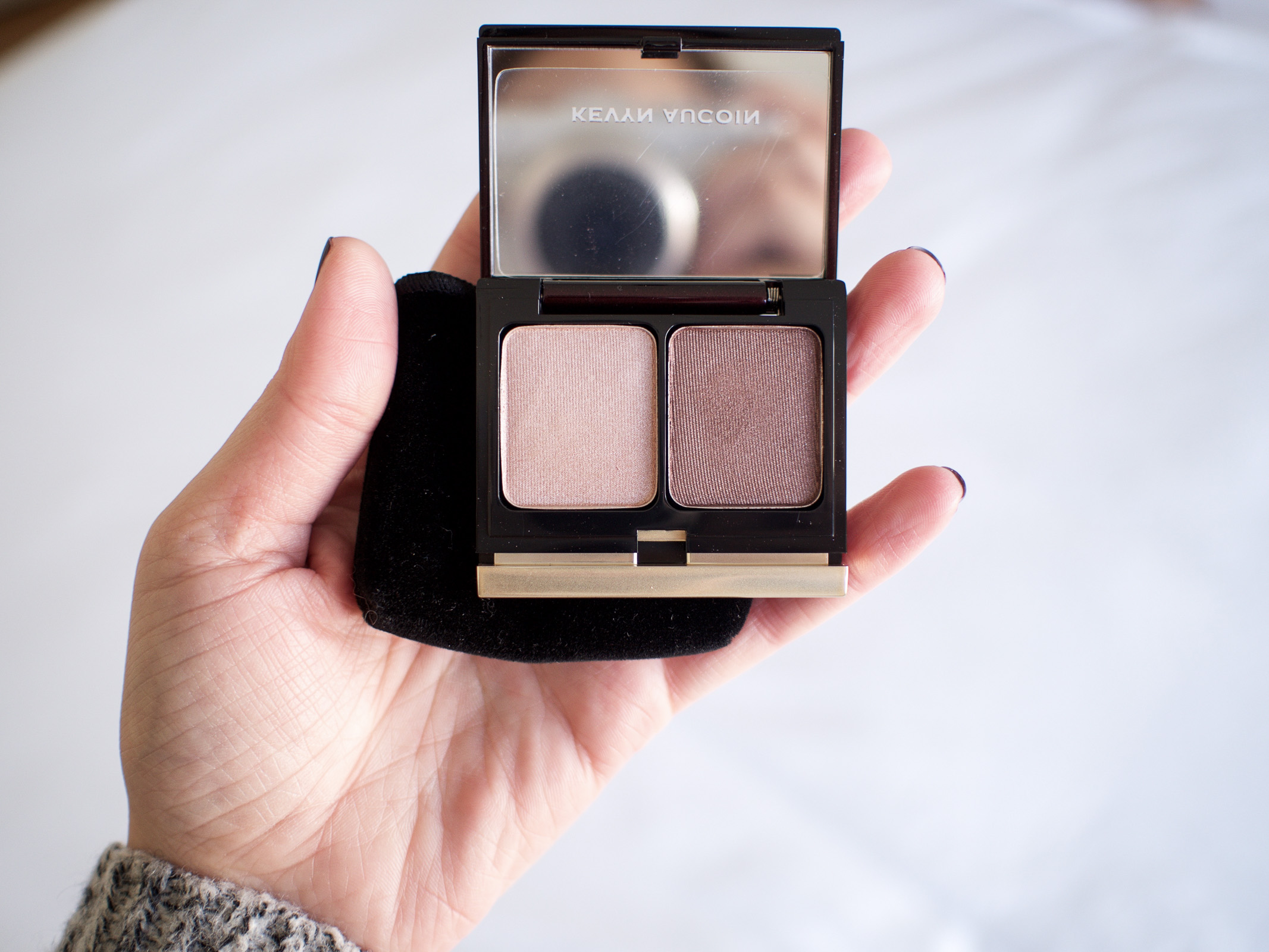 A Space NK Sale Haul | Kevyn Aucoin Eyeshadow Duo in Peach/Rust Brown | Wolf & Stag