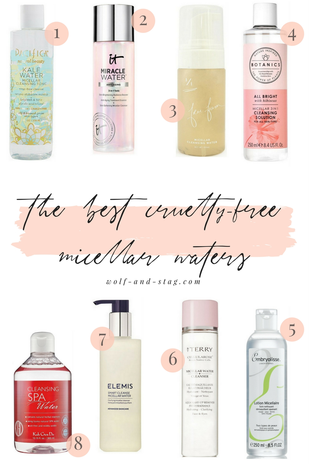The Best Cruelty-Free Cleansing Micellar Waters | Wolf & Stag