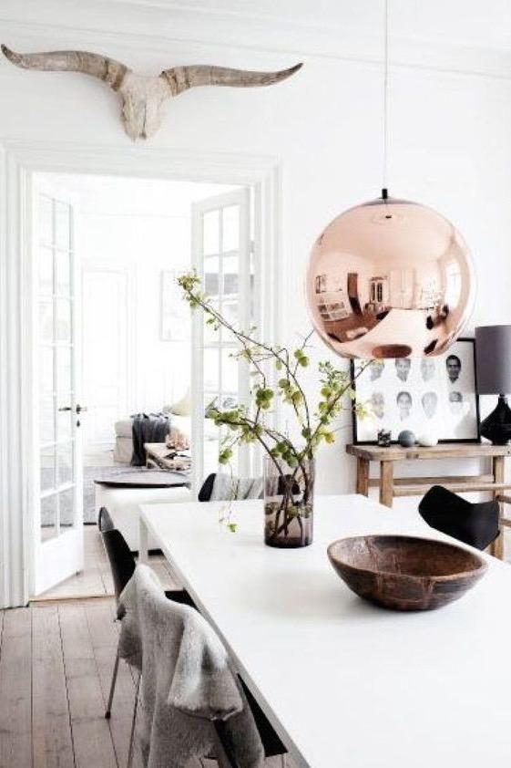 Interiors Inspiration: Scandehemian Decor | Wolf & Stat