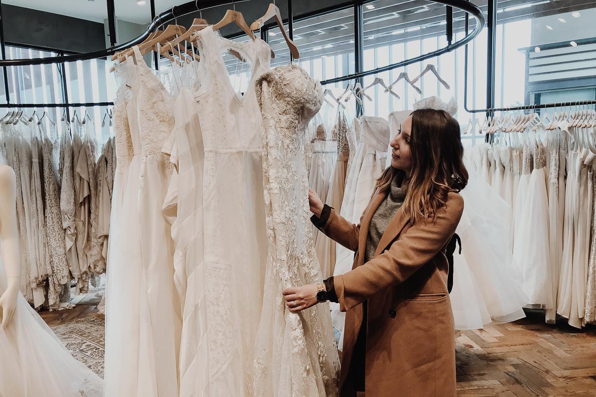 Wedding Dress Shopping is the Best (And Worst) » Wolf & Stag