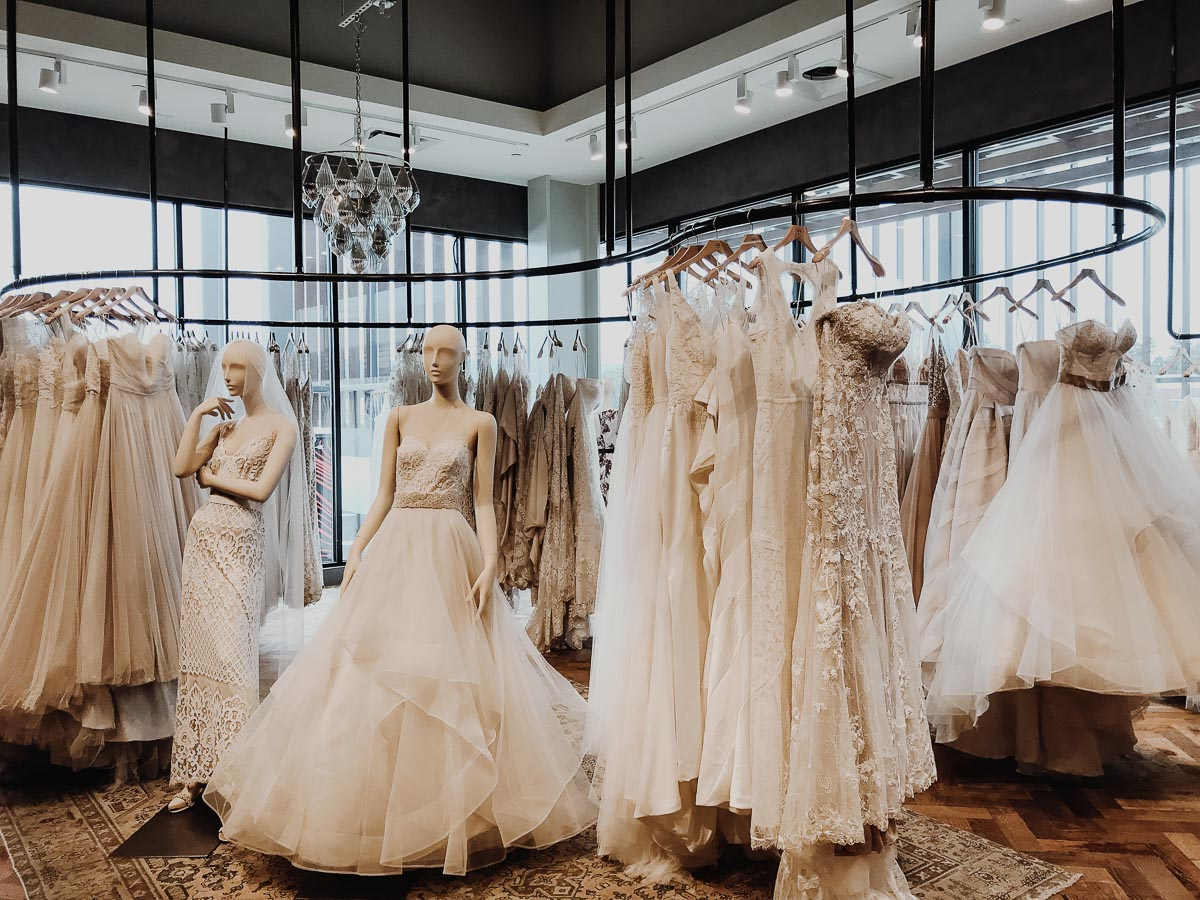 Wedding Dress Shopping: The Best Wedding Dresses Under $500 | shopping at BHDLN | Wolf & Stag
