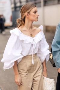 Spring Capsule Wardrobe Inspiration: Romantic White