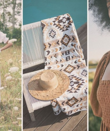 The Mostly Sustainable Summer Capsule Wardrobe | featuring boho, whimsical and romantic pieces from sustainable brands